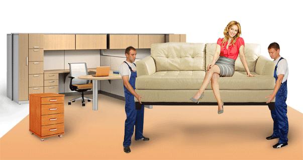 перевозка мебели мск